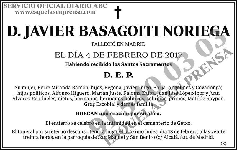 Javier Basagoiti Noriega